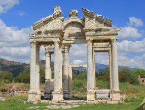 Aydın'da Dünya Mirası Listesi'ndeki Afrodisias Antik Kenti'ne tedbir alındı