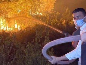 Yangın bölgesine gitti, 'şov yapıyor' diye eleştirildi! CZN Burak sessizliğini bozdu