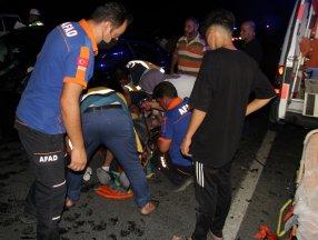 Erzincan'da kaza: 1 bebek hayatını kaybetti, 7 kişi yaralandı