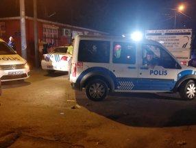 Kocaeli'de bira şişesiyle polislere saldırdı