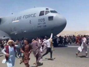 ABD Hava Kuvvetleri Kabil'den kalkan uçağa soruşturma açtı