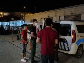 Bursa'da 5 kaçak göçmen yakalandı