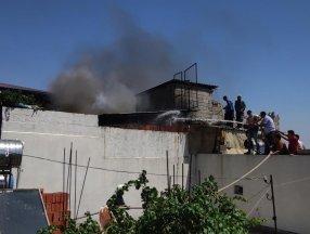 Gaziantep'te çıkan yangına görülmemiş müdahale