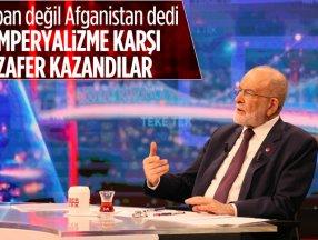 Temel Karamollaoğlu'dan Taliban göndermesi: Emperyalizme karşı kazandılar