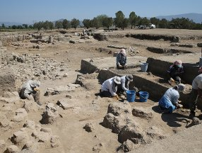 Aydın Tepecik Höyüğü'nde 3500 yıllık 'seramik fırın' bulundu