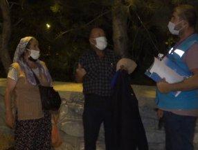 Kırıkkale'de otobüste yakalanan riskli gruptaki yaşlı çift, polise yalvardı