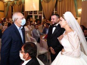 Kemal Kılıçdaroğlu Ankara Keçiören'de bir düğüne katıldı
