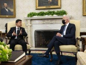 Joe Biden ve Vladimir Zelenskiy, Beyaz Saray'da bir araya geldi