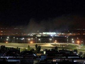 Erbil'de ABD askerlerinin de bulunduğu havalimanına İHA ile saldırı