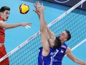 Avrupa Şampiyonası'nda A Milli Erkek Voleybol Takımı, Sırbistan'a yenildi