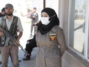 Türkiye'nin Suriye'de eğittiği kadın polisler görevde