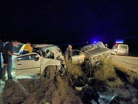 Karabük'te korkunç kaza: 2 ölü, 6 yaralı