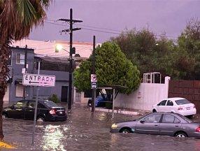 Meksika'da feci bir sel meydana geldi