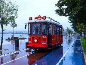 Ordu'da nostaljik tramvay hizmete girdi
