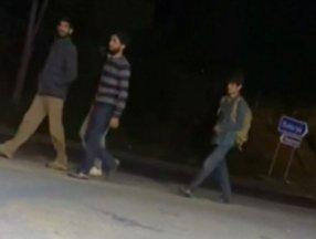 Sakarya'da arızalanan tırın kasasında bulunan göçmenler kaçtı