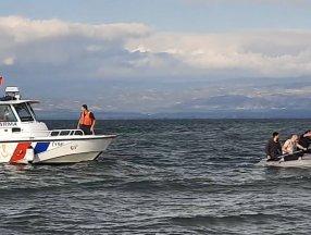 Bursa'da 3 amatör balıkçı ölümden döndü