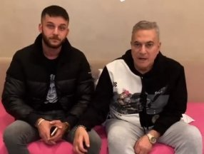 Mehmet Ali Erbil, Ece Ronay'ın nişanlısı ile video paylaştı