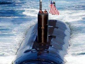 ABD'nin denizaltısı suya inerken bilinmeyen bir cisme çarptı