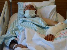 Tunceli'de ayısaldırısına uğrayan köylü, yaralı haliyle 5 kilometre yürüdü