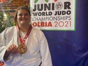 Milli judocu Hilal Öztürk dünya üçüncüsü