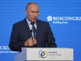 Vladimir Putin: Türkiye'ye doğalgaz sevkiyatlarını artırıyoruz