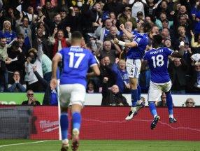 Çağlar Söyüncü'lü Leicester City, Cristiano Ronaldo'lu Manchester United'ı 4-2 yendi