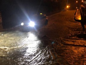 Rize'de şiddetli yağış su baskınlarına neden oldu