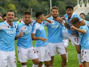 Trabzonspor U19 Futbol Takımı, Avrupa'da tur atladı