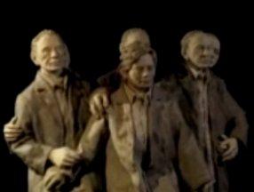 ABD'deki sergide Server Demirtaş'ın hareketli heykeli ilgi odağı oldu