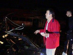Kocaeli'de yanan çiftlik evindeki kulübede 70 bin TL'sini aradı
