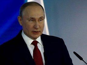 Vladimir Putin: Avrupa'daki gaz depolama tesislerine tedariki artırın